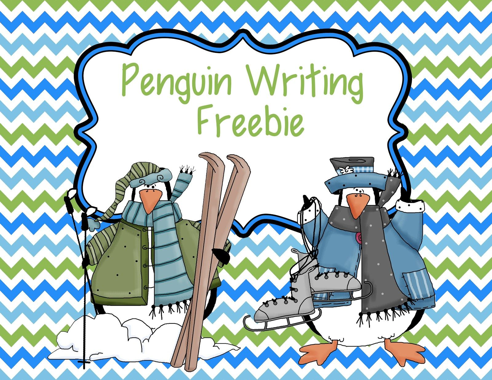 Smiling And Shining In Second Grade Penguin Writing Paper