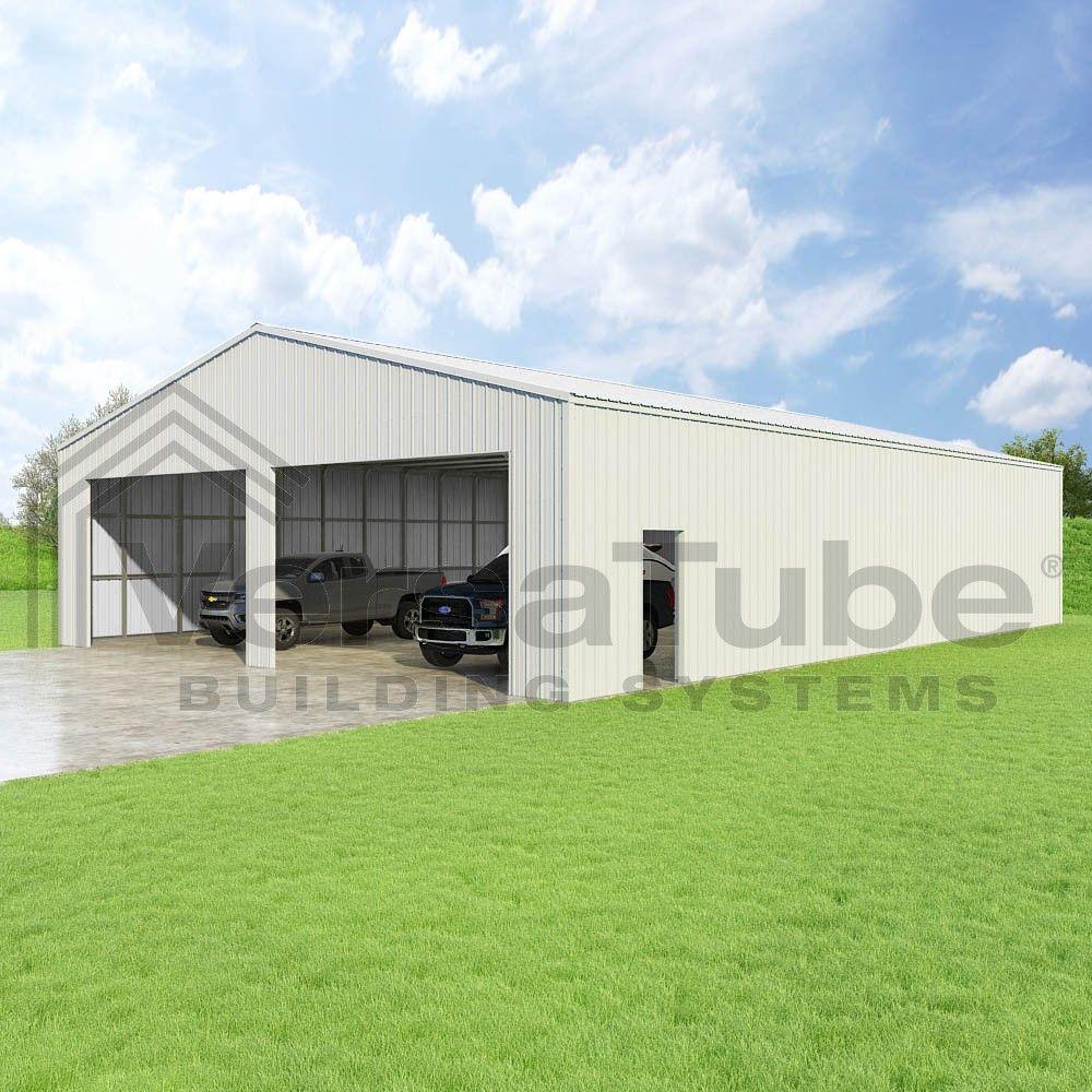 Summit Garage 40 X 60 X 12 Garage Or Building Building Kits Garage Style Metal Building Designs Garage