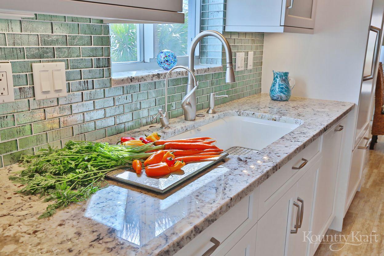 WhiteCabinets #CustomCabinets #KountryKraft | White Kitchen Cabinets ...