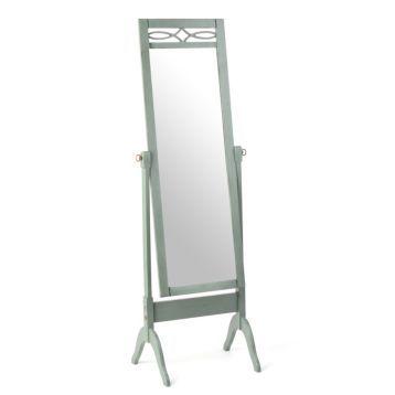 Distressed Blue Cheval Floor Mirror | Mirror wall decor ... on Floor Mirrors Decorative Kirklands id=98310