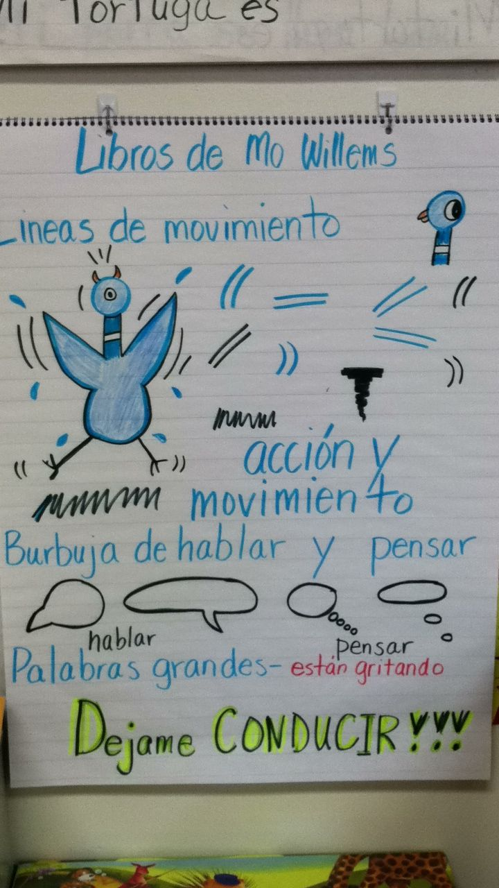 Writing w/ Mo Willems.