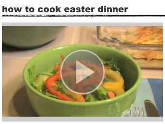 How to make easter dinner easter passover pinterest easter how to make easter dinner negle Choice Image