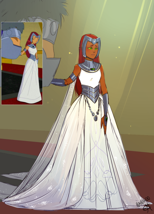 Ttgo Tgo - Princess Starfire Was Force Marrying With The -2339