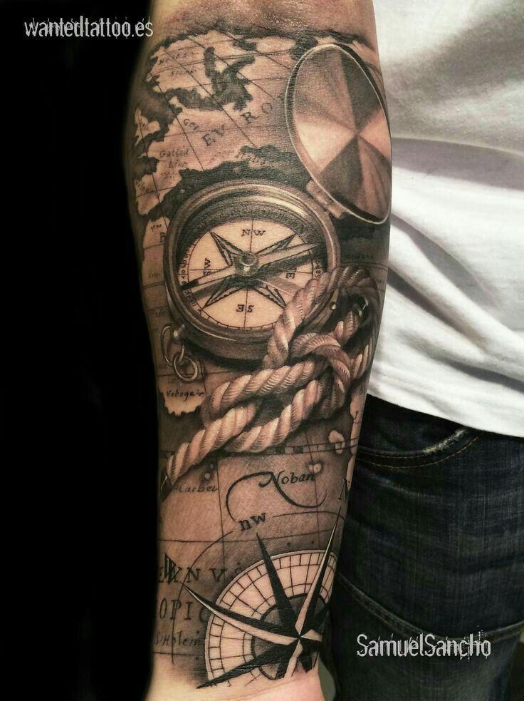 Pin by Garrett Corley on Inked | Tattoos, Pirate tattoo ...