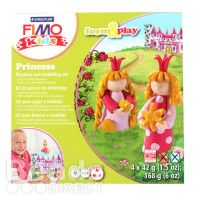 Staedtler Fimo Kids Princess Set Form and Play 4x42g(5.9oz)