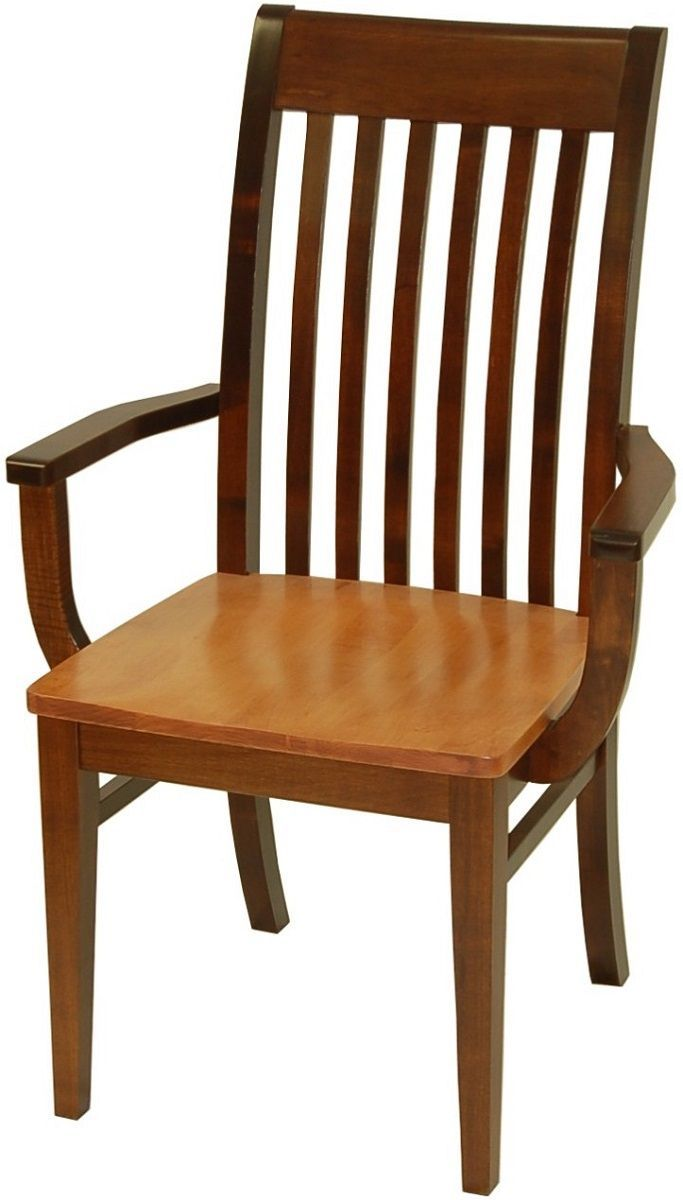 Harmon Shaker Wood Kitchen Chair Countryside Amish Furniture Wood Kitchen Chair Craftsman Dining Tables Kitchen Chairs Wooden kitchen chair with arms
