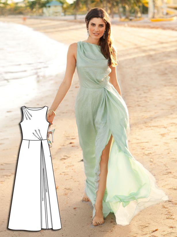Beachside Beauty: 6 New Dress Sewing Patterns | Sewing patterns ...