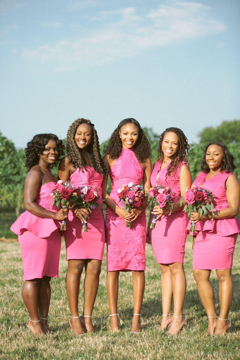 Guest Bride Blogger Deandrea Je 3 Vows On The Vineyard Bride Bridesmaid Wedding Photography [ 1200 x 800 Pixel ]