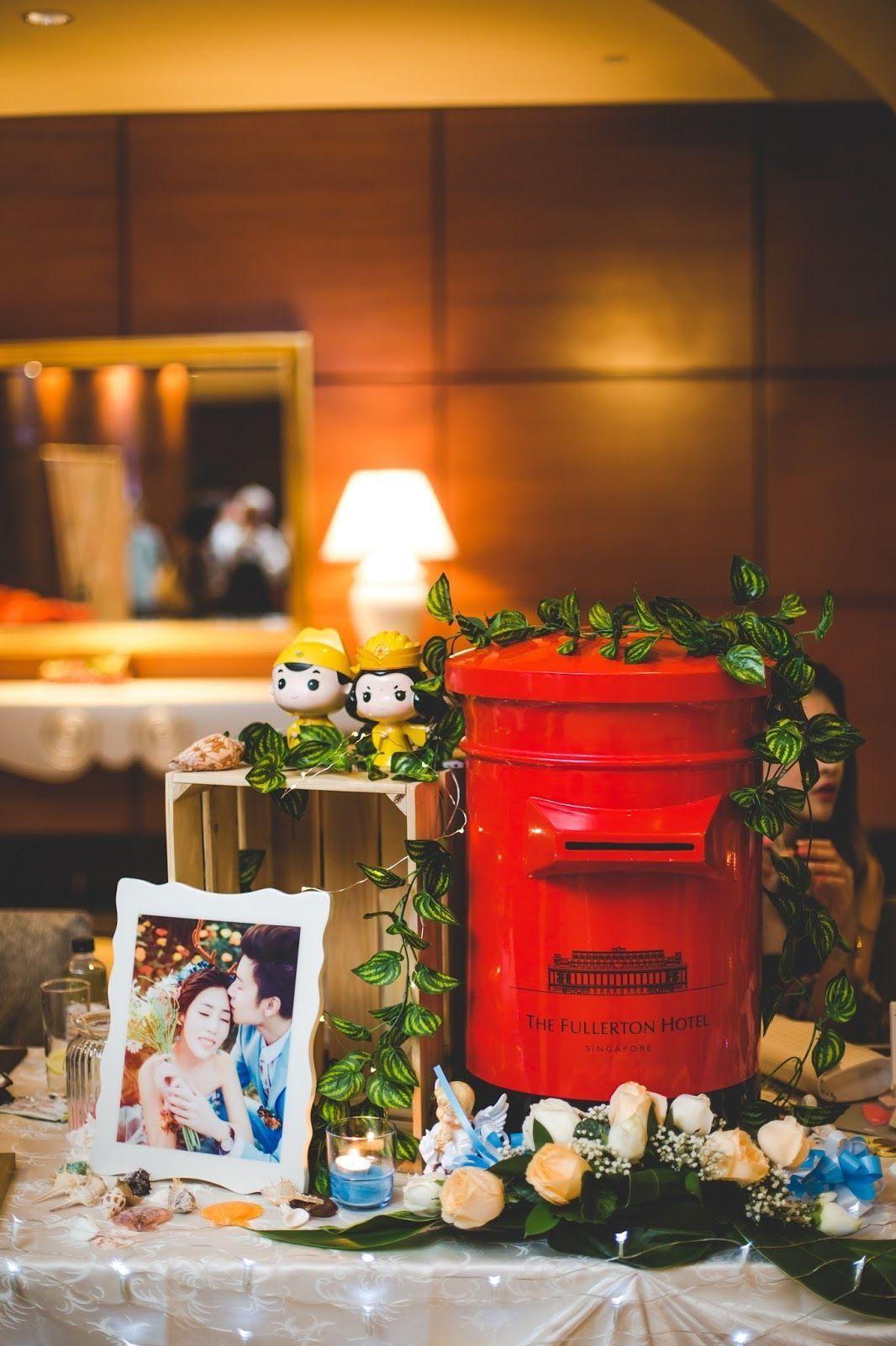 Wedding Album Table Decoration Singapore Wedding Plan