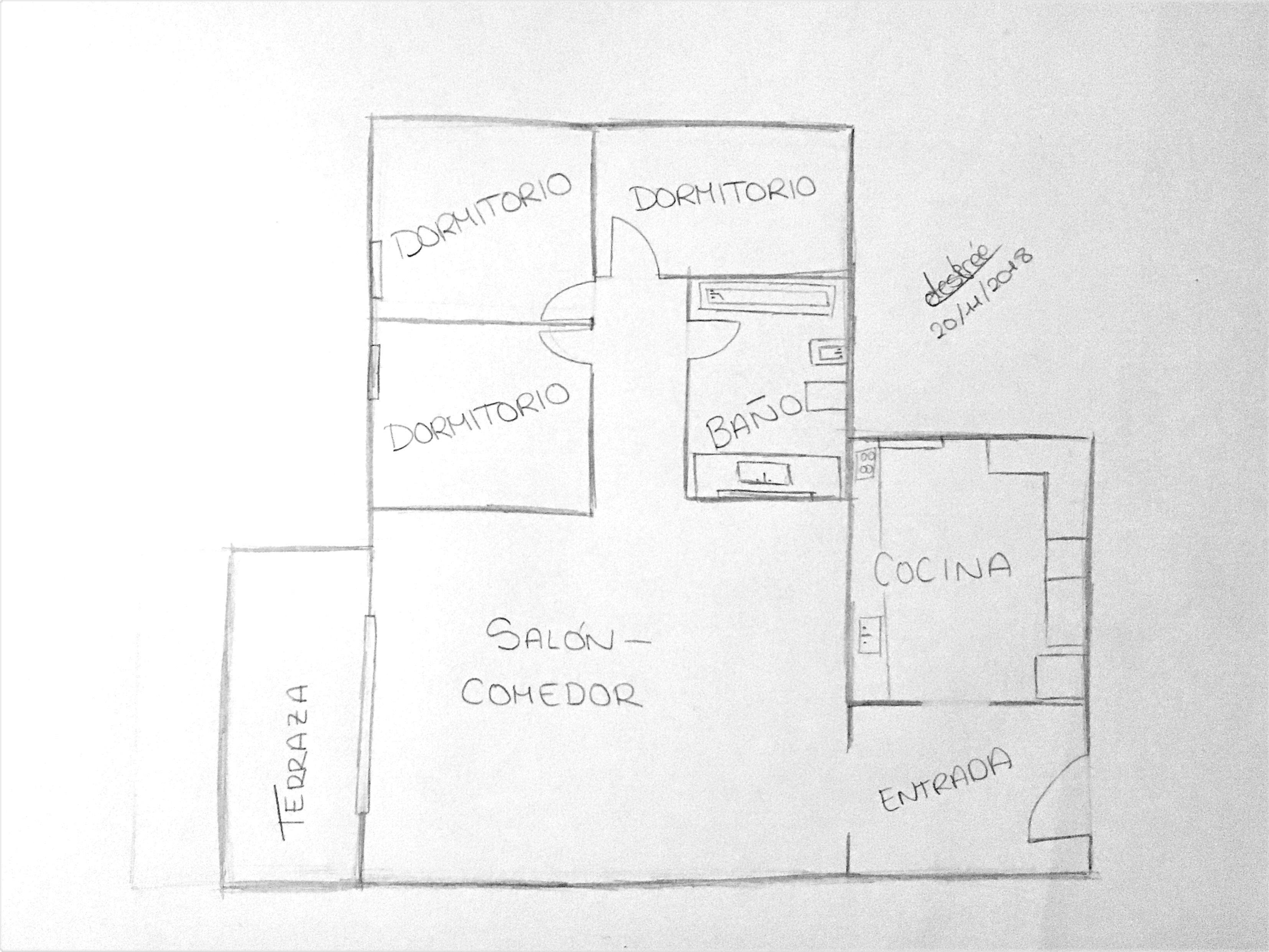 Tarea 2 1 Dibujo De Casa Dibujos En Cuadricula Planos
