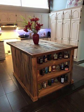 Îlot de cuisine / bar sur mesure 600$ et plus | mobilier de salle ... - Table De Cuisine Sur Mesure