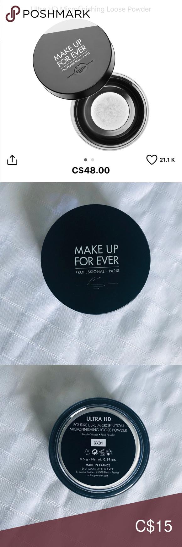 Makeup Forever Ulta HD Microfinishing Loose Powder Loose