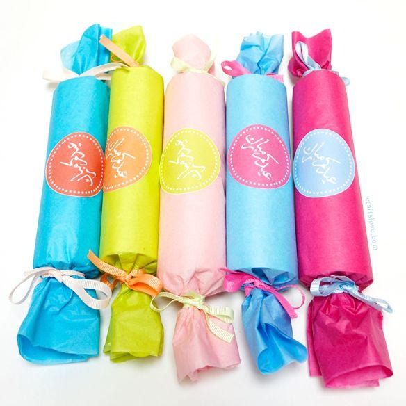 Eidya Candy Giveaways توزيعات العيد على شكل حلويات Happy Eid Party Event Candy Giveaway
