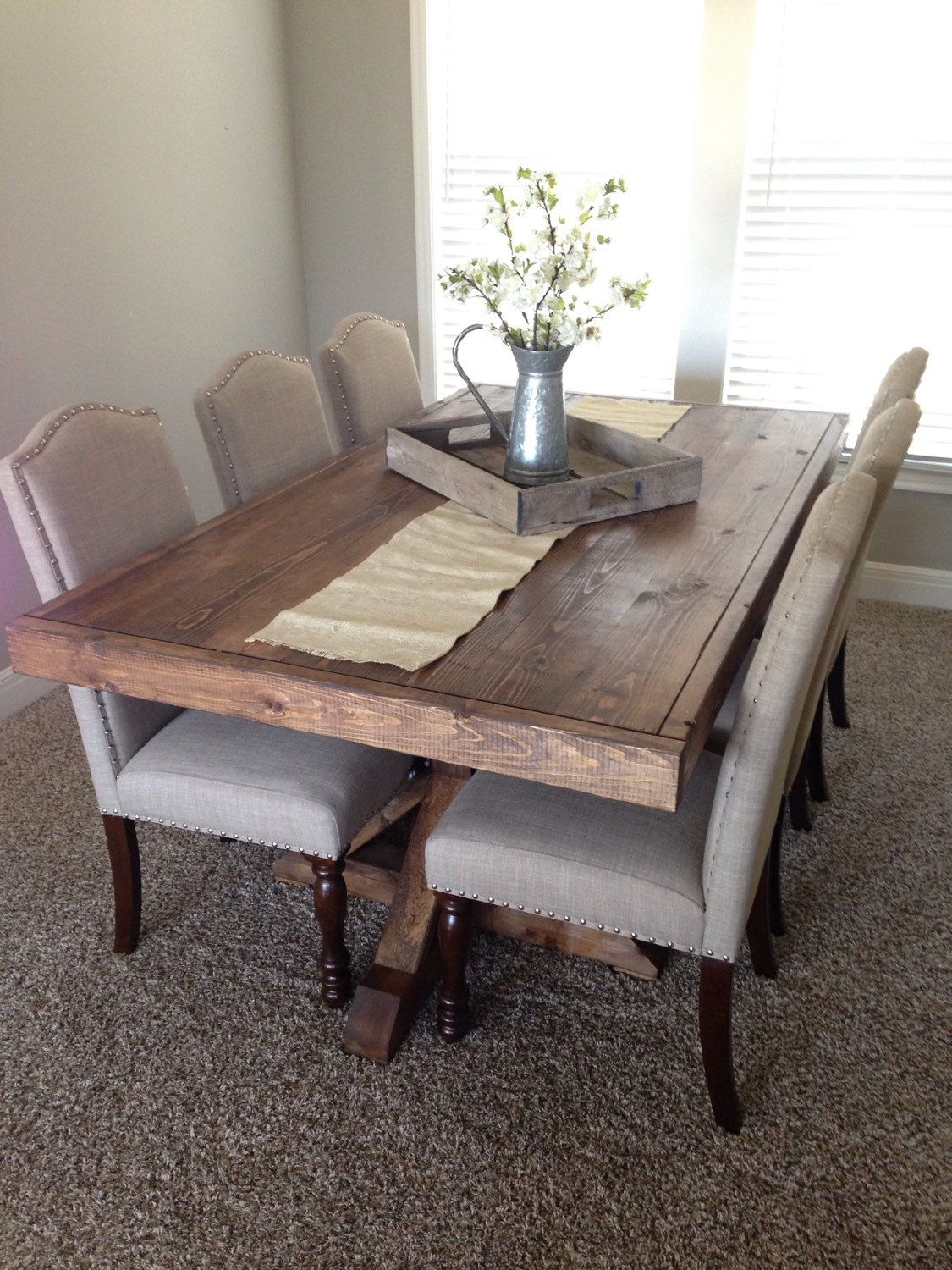 40+ DIY Farmhouse Table Plans The Best Dining Room Tables Youu0027ll Love