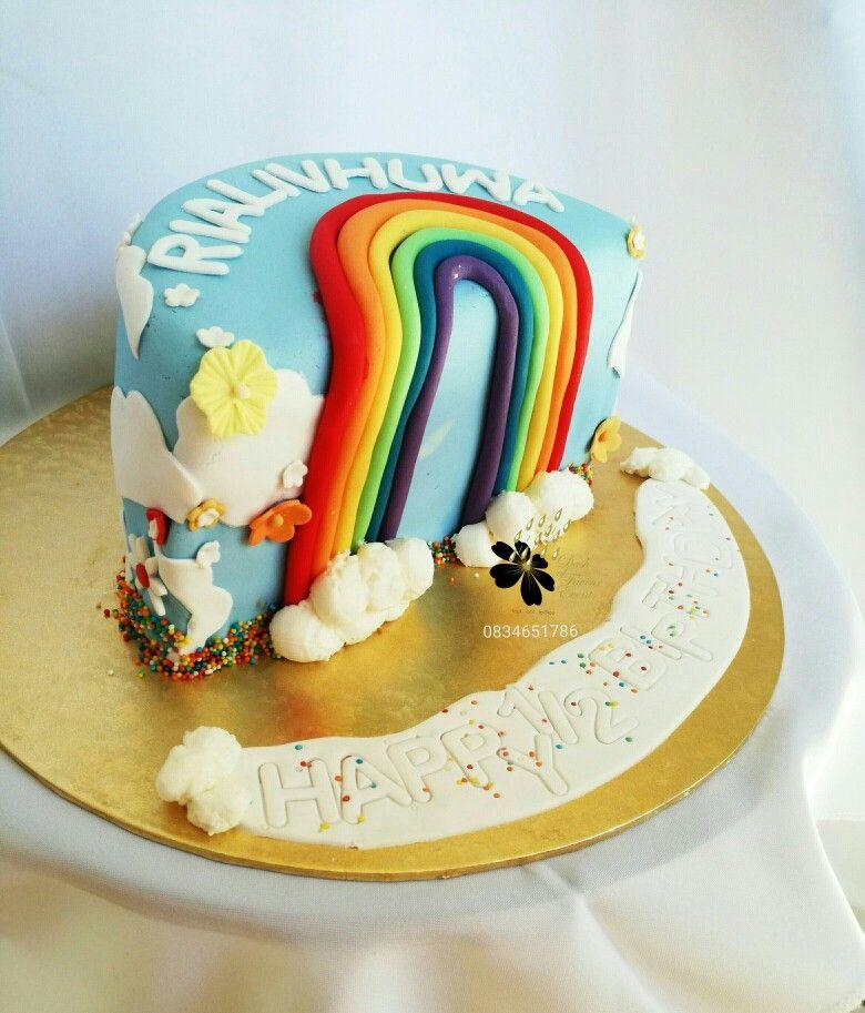 Rainbow Cake Quotes Birthday