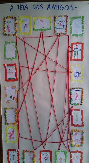 Teia Da Amizade Projeto Identidade Educacao Infantil Ideias