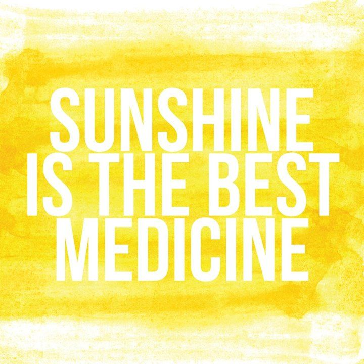 Best Quotes About Medicine: Sunshine Is The Best Medicine. #inspiration #quote