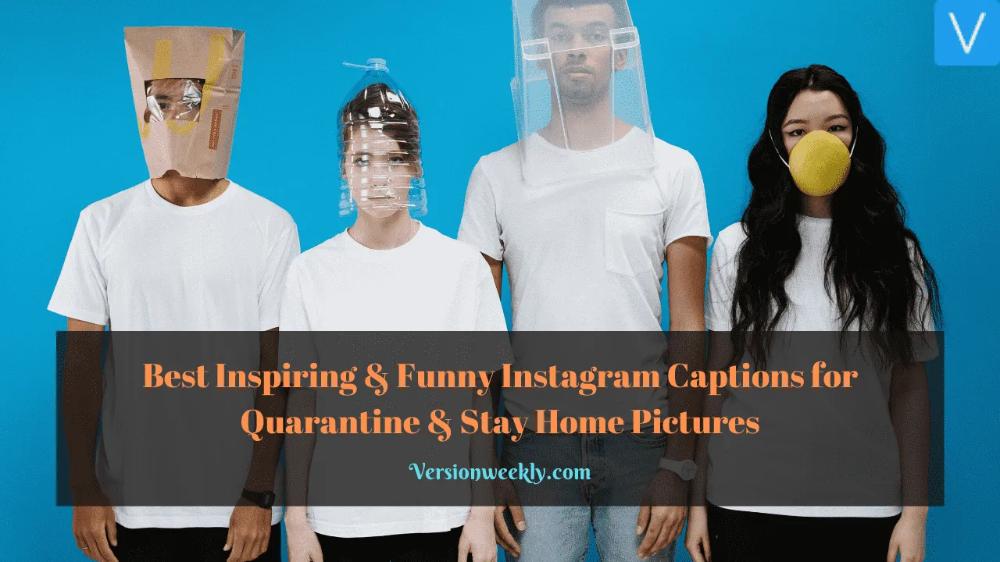 CoronaCaptions VersionWeekly in 2020 Instagram