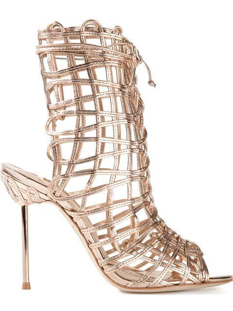 61c63e73642a Comprar Sophia Webster sandalias de bota