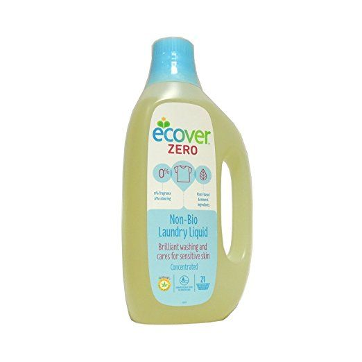 Ecover Laundry Liquid 2 5x Concentrated Zero 51 Fluid Ounce