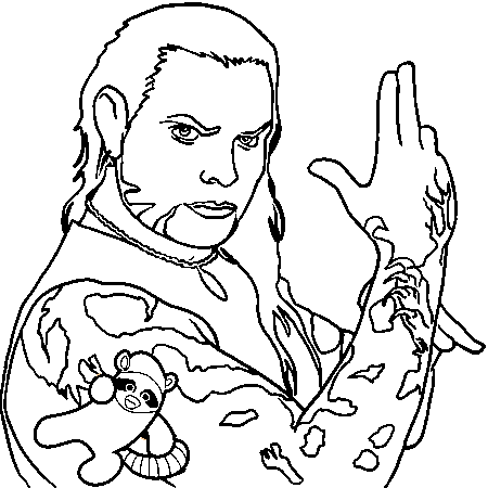 Jeff Hardy Coloriage Coloring Pages For Boys Coloring Pages Jeff Hardy