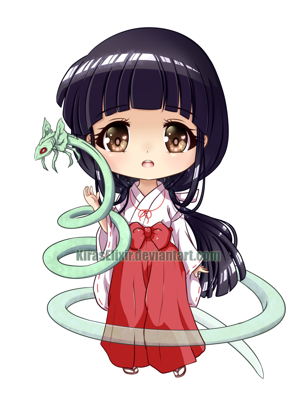 Chibi Kikyo by KirasElixir on DeviantArt. I'm not a huge fan of Kikyo but she looks so cute here
