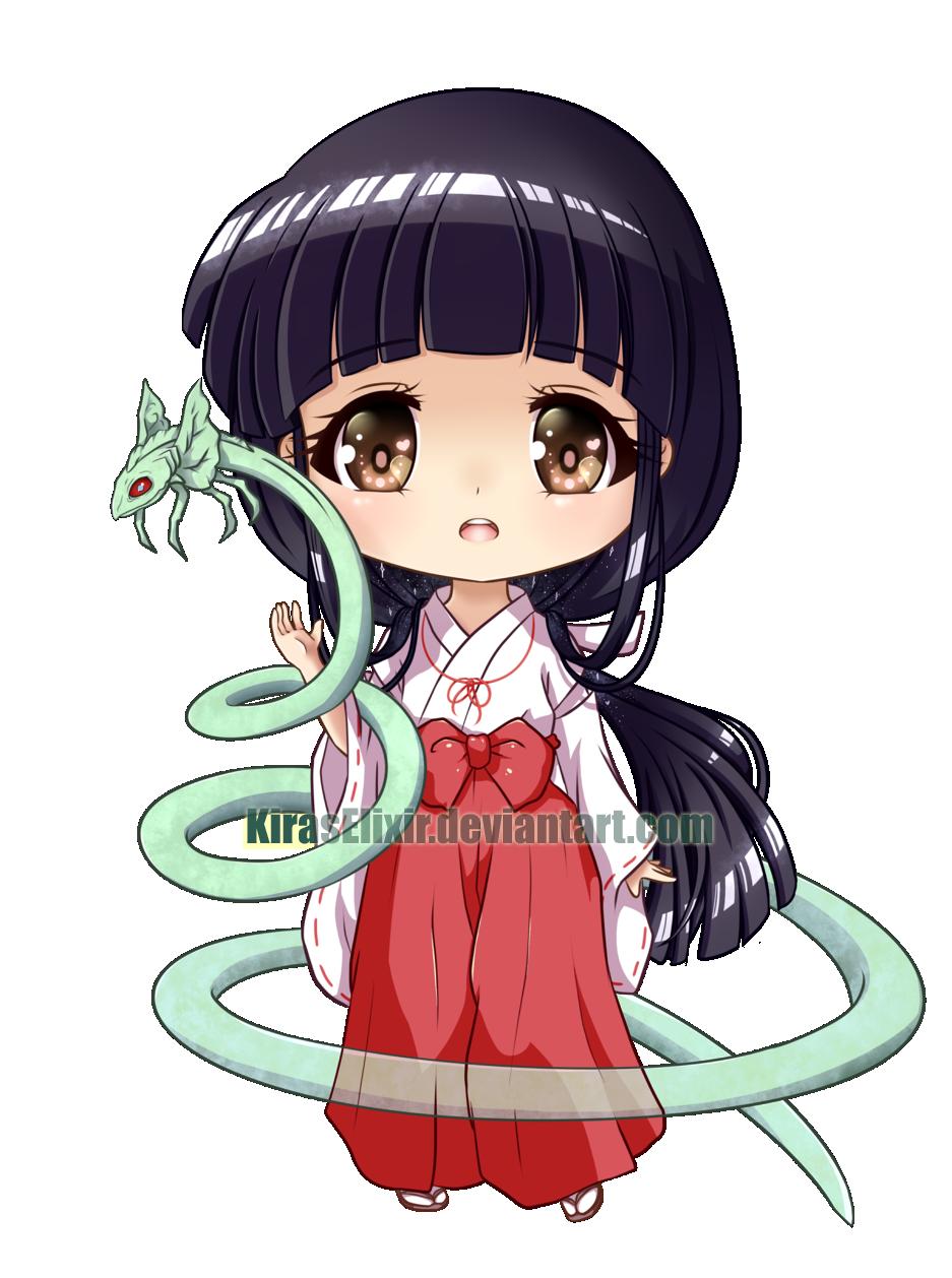 Chibi Kikyo by KirasElixir on DeviantArt Inuyasha