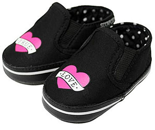 Kiditude - True Love Heart Tattoo Baby Crib Shoes $25.95 Read more: http://www.kiditude.com/catalog/cool-baby-shoes-and-footwear/true-love-heart-tattoo-baby-crib-shoes-627.html