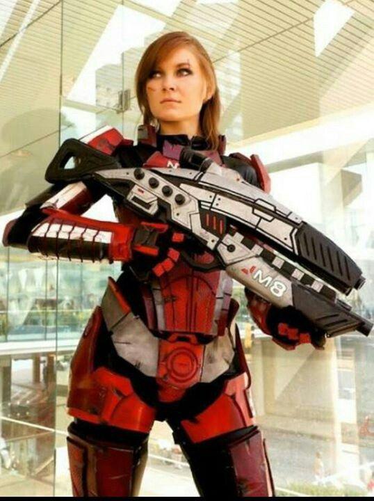 Cosplay - shepherd! Mass Effect! #masseffect #shepherd
