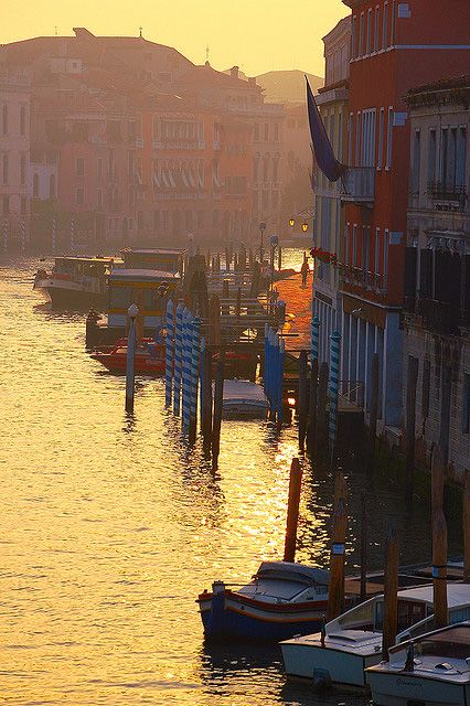 Venice Sunset on the Grand Canal