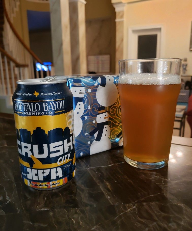 Crush City Ipa From Houston S Buffalo Bayou Brewing It S Got The