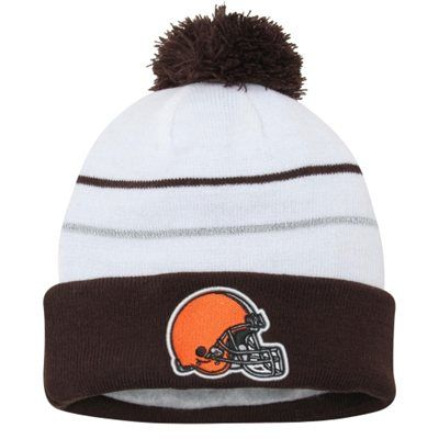 3cb47f26 Mens Cleveland Browns New Era White 2014 Thanksgiving Fan Cuffed ...