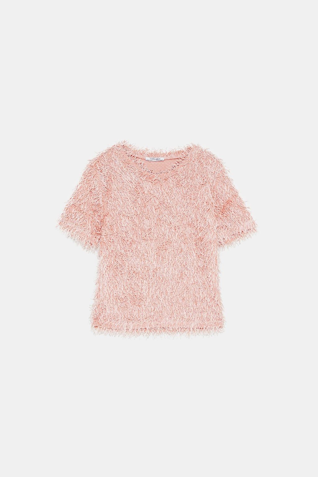 d040c55f Image 8 of FRINGED T-SHIRT from Zara | wear2shine tops in 2019 ...