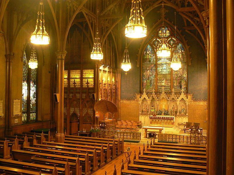 view of st paul s episcopal church troy ny boasting windows