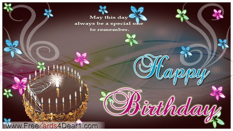 Free animated cards for facebook special one to remember free animated cards for facebook special one to remember birthday greetings bookmarktalkfo Gallery