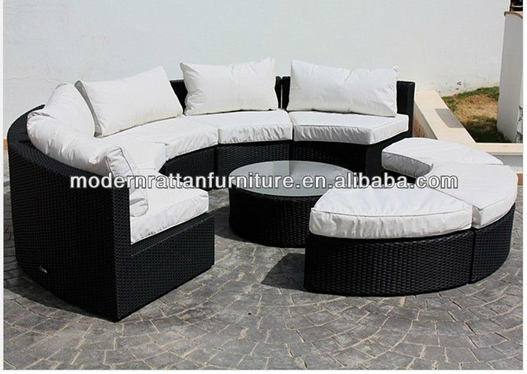 Semi-circle sectional patio sofa set - Garden Sofa $199.99~$799.99