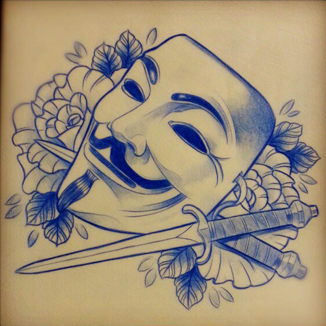 Anonymous Tattoo Designs | www.pixshark.com - Images ...