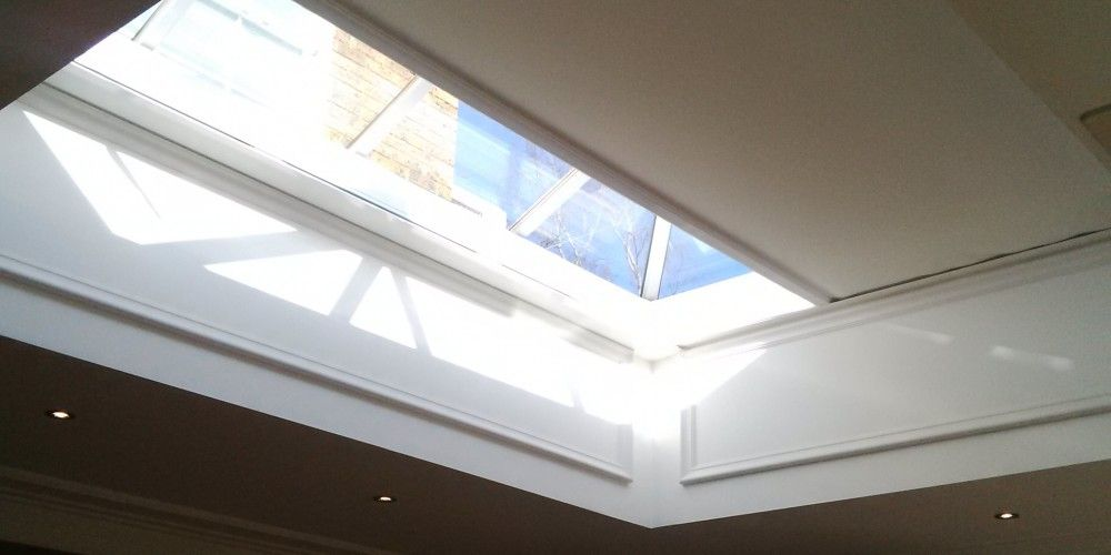 Deans Electric Roof Lantern Blinds Electric Roof Lantern
