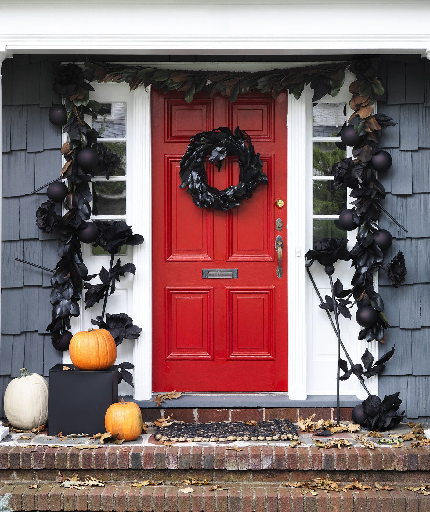 Spooky Halloween Decorations for Your Front Door Bleak house - Front Door Halloween Decorations
