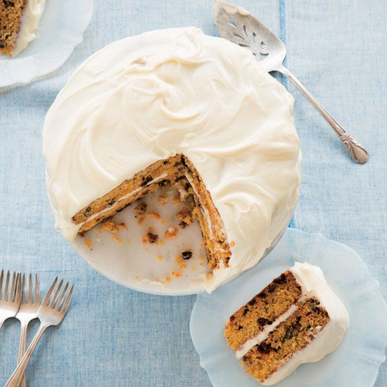 Gingered Carrot Cake adds even more flavor to a time-tested recipe.data-pin-do=