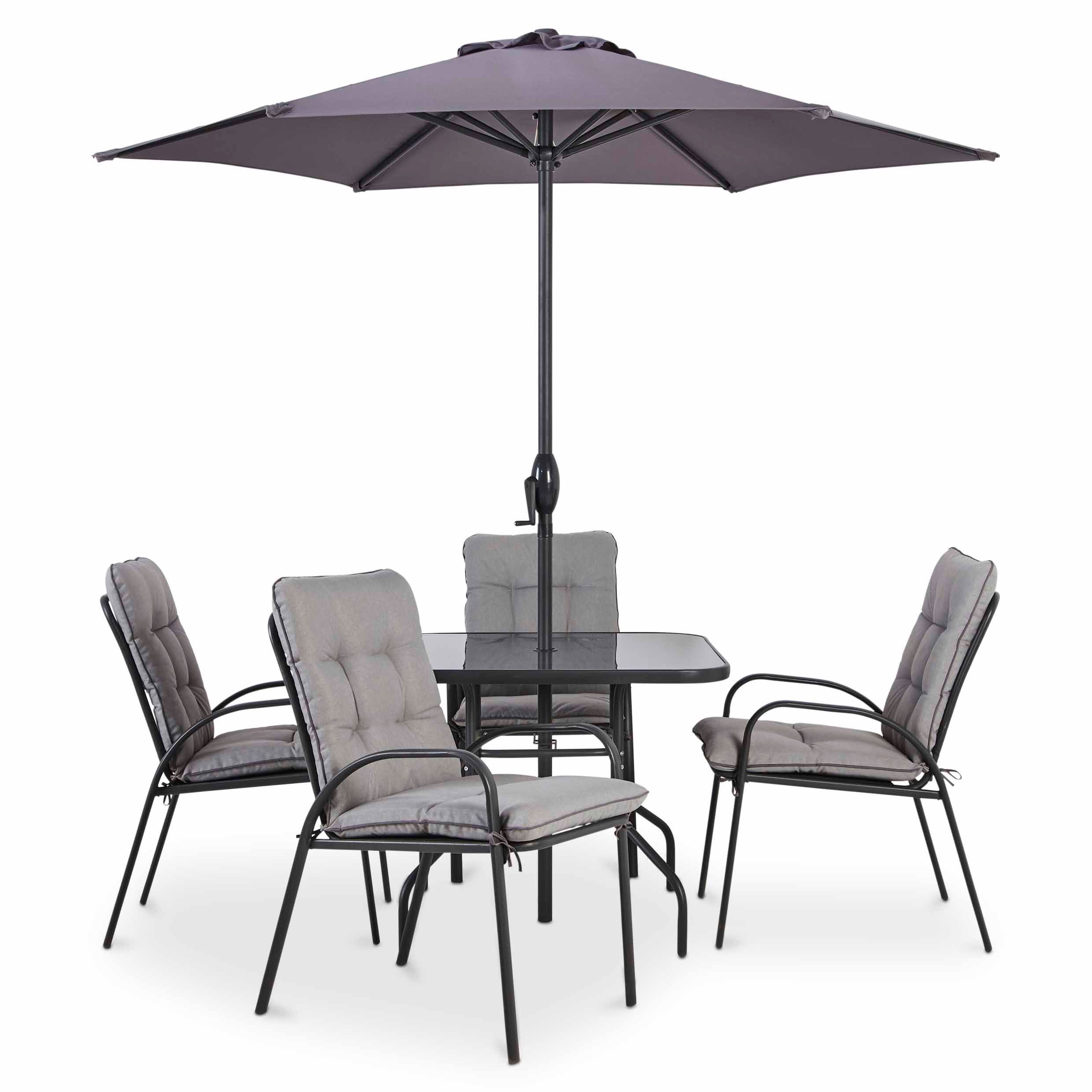cranbrook metal 4 seater dining set b q for all your home and rh pinterest com