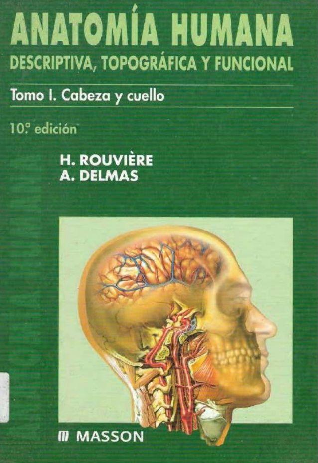 Rouviere delmas anatomia humana - cabeza y cuello tomo 1 | Proyectos ...