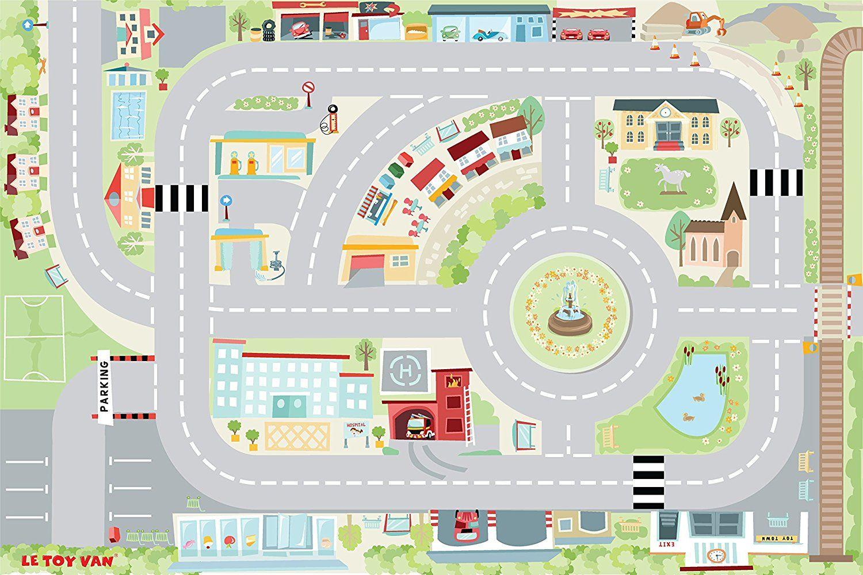 Alfombra infantil de carreteras Le Toy Van | Alfombras ...