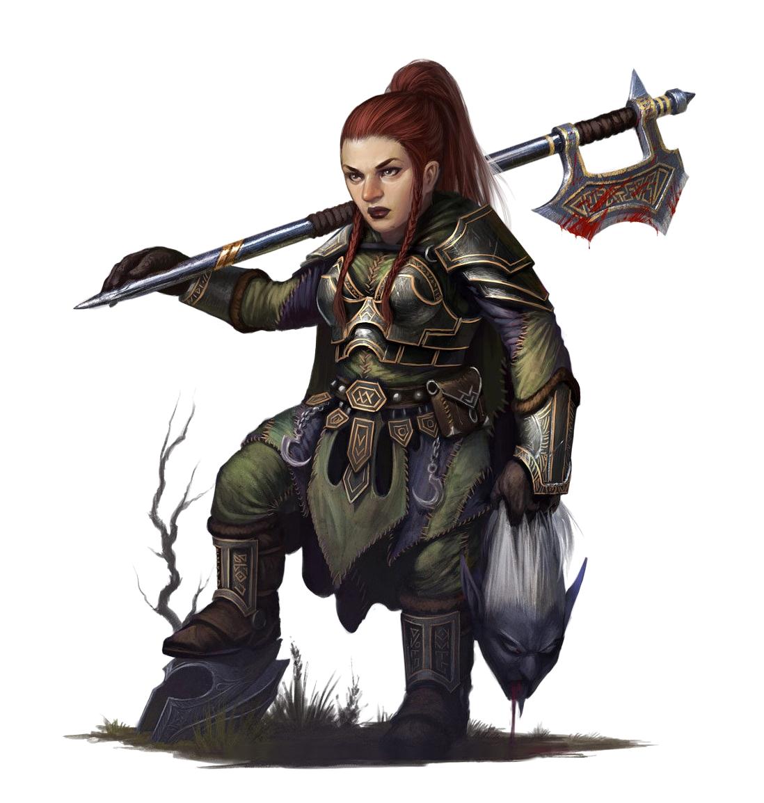 Female dwarf pics