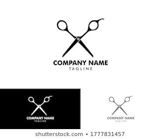Scissor Logo Barber Logo Barbershop Logo Stock Vector Royalty Free 1546389866 In 2021 Barber Logo Scissors Logo Vector Logo