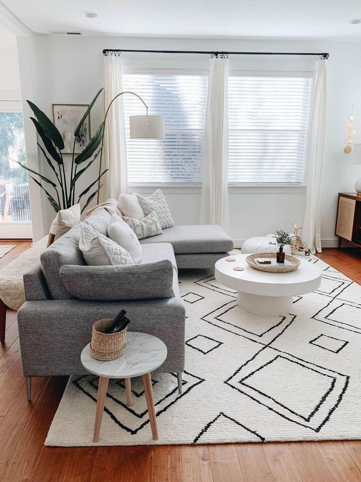 fabulous modern living room decor | 36 Fabulous Modern Scandinavian Living Room Decor Ideas ...