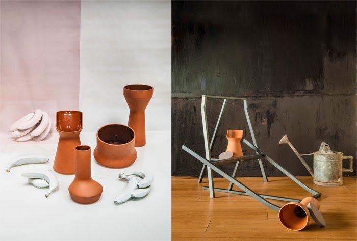 BENJAMIN HUBERT - DISEÑADOR Pots // Interior Styling: Marta del Valle y Juan Sancho// Photography: Manuel Prats