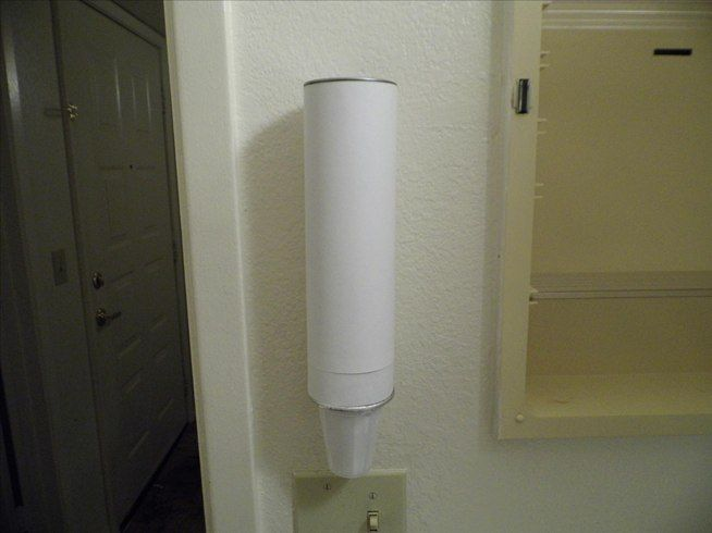 How To Make A Stylized Paper Cup Dispenser For Your Bathroom Macgyverisms