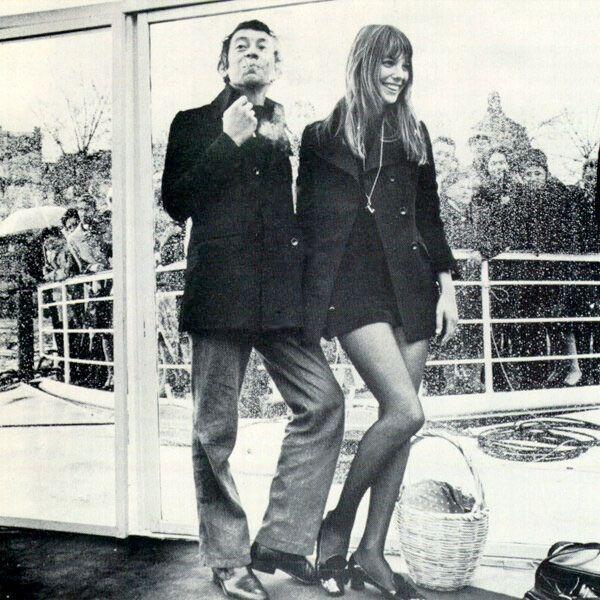Photo Serge Gainsbourg et Jane Birkin //19//