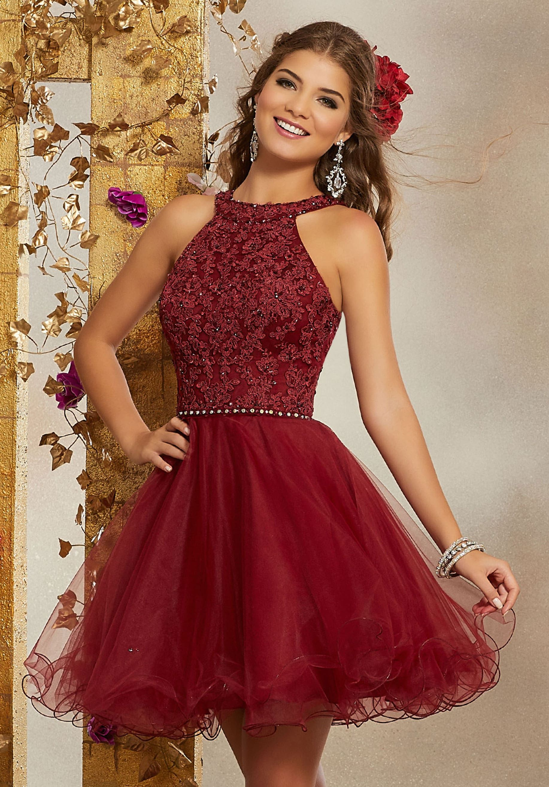 Beautiful Winter Dresses For Your Damas Dama Dresses